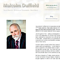 Malcolm Duffield Business Consultant website link