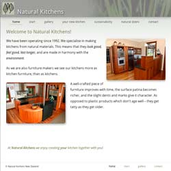 naturalkitchens.co.nz website screenshot